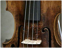 an antique violin