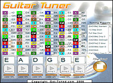 Adjustable Online Guitar Tuner