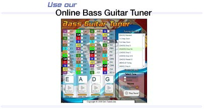 Online bass tuner