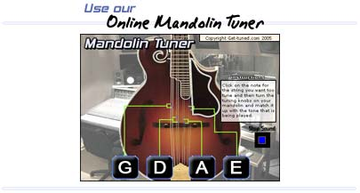 mandolin tuning notes